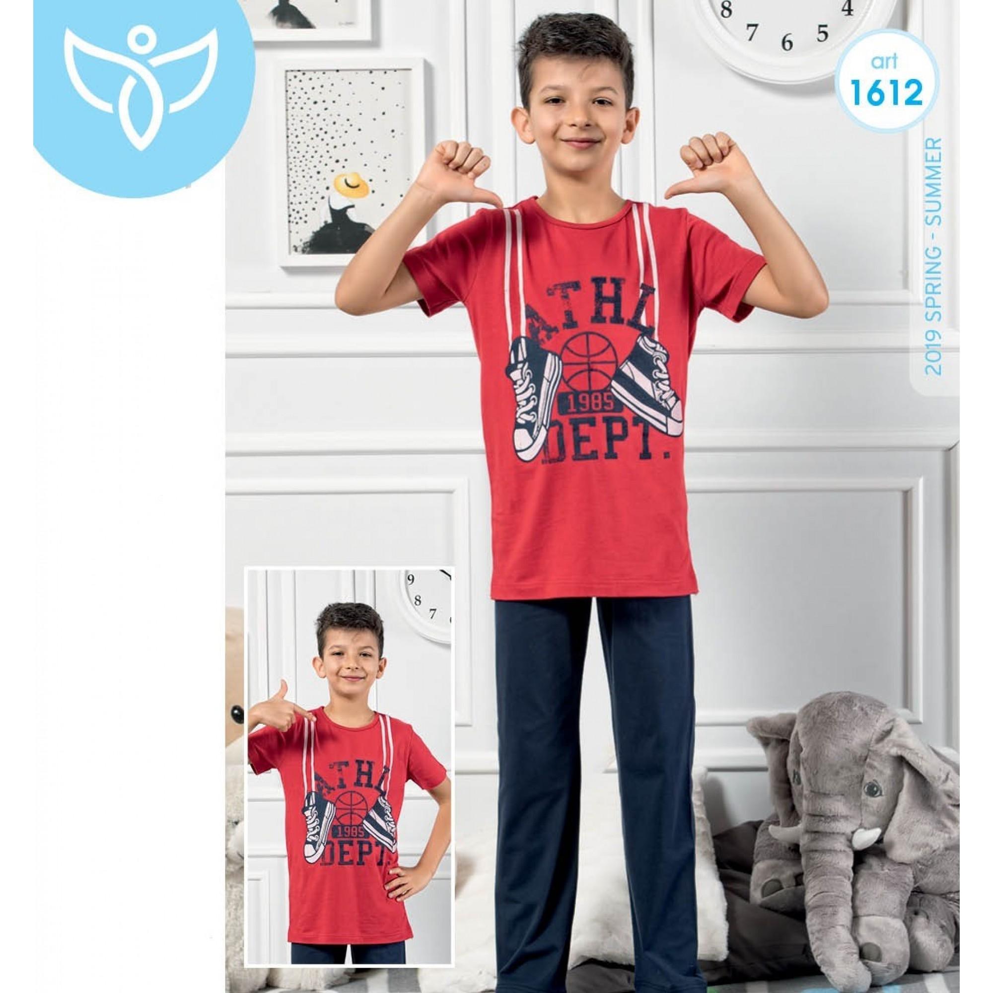 """Детска пижама за момче """"Кецове"""" - 100% Памук"""