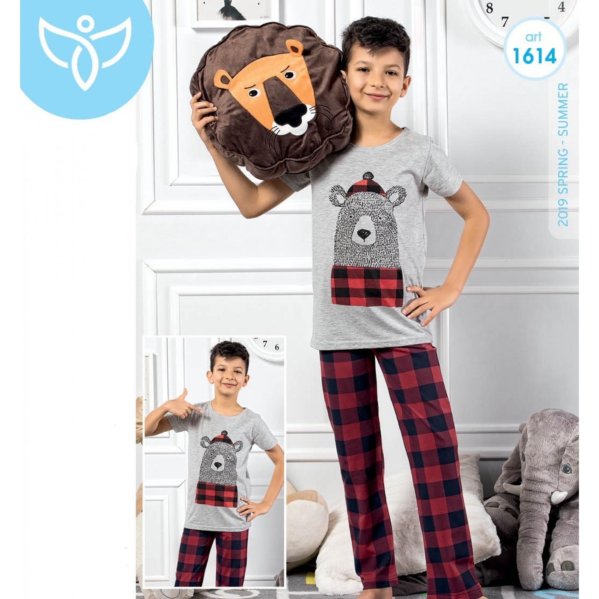 "Детска пижама за момче ""Teddy Bear"" - 100% Памук"