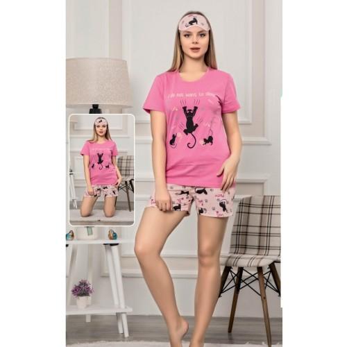 Дамската лятна пижама  Meow