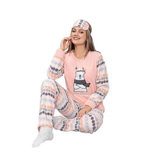 Дамска пижама Dream - Полар