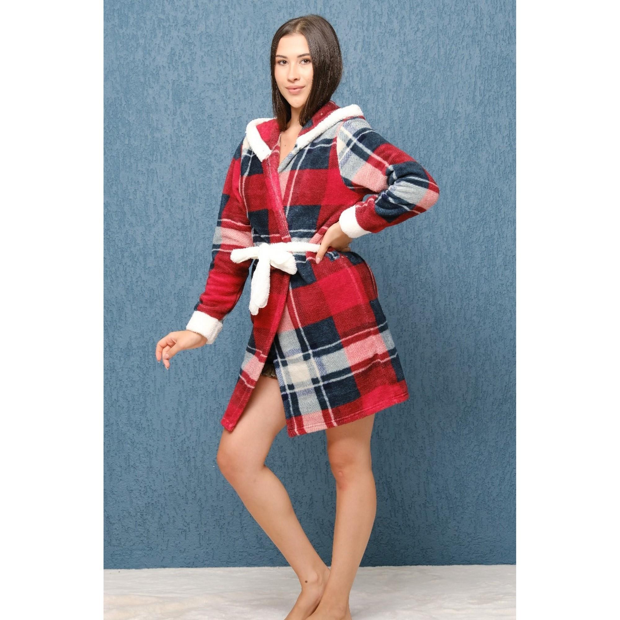 Домашен халат от полар Lovely