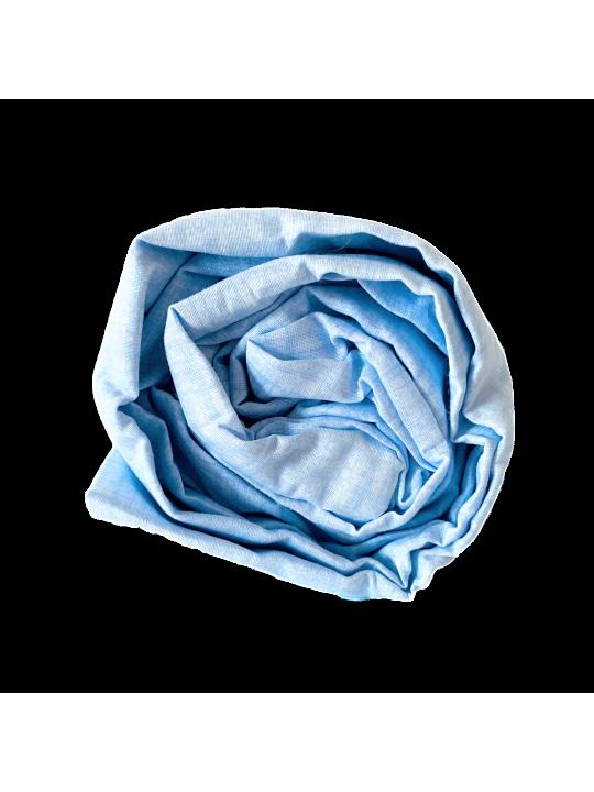 Чаршаф с ластик в комплект с калъфки Blue