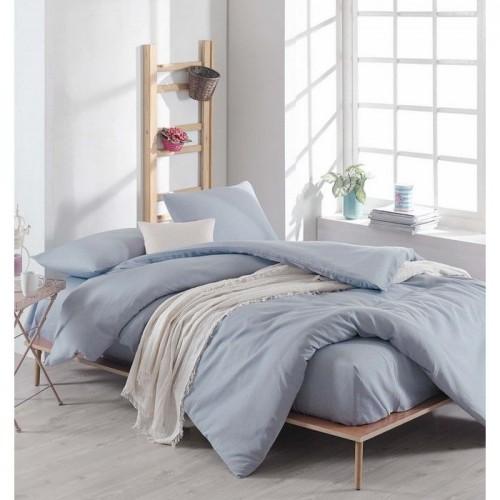 Спален комплект Light Blue Ранфорс - 100% Памук