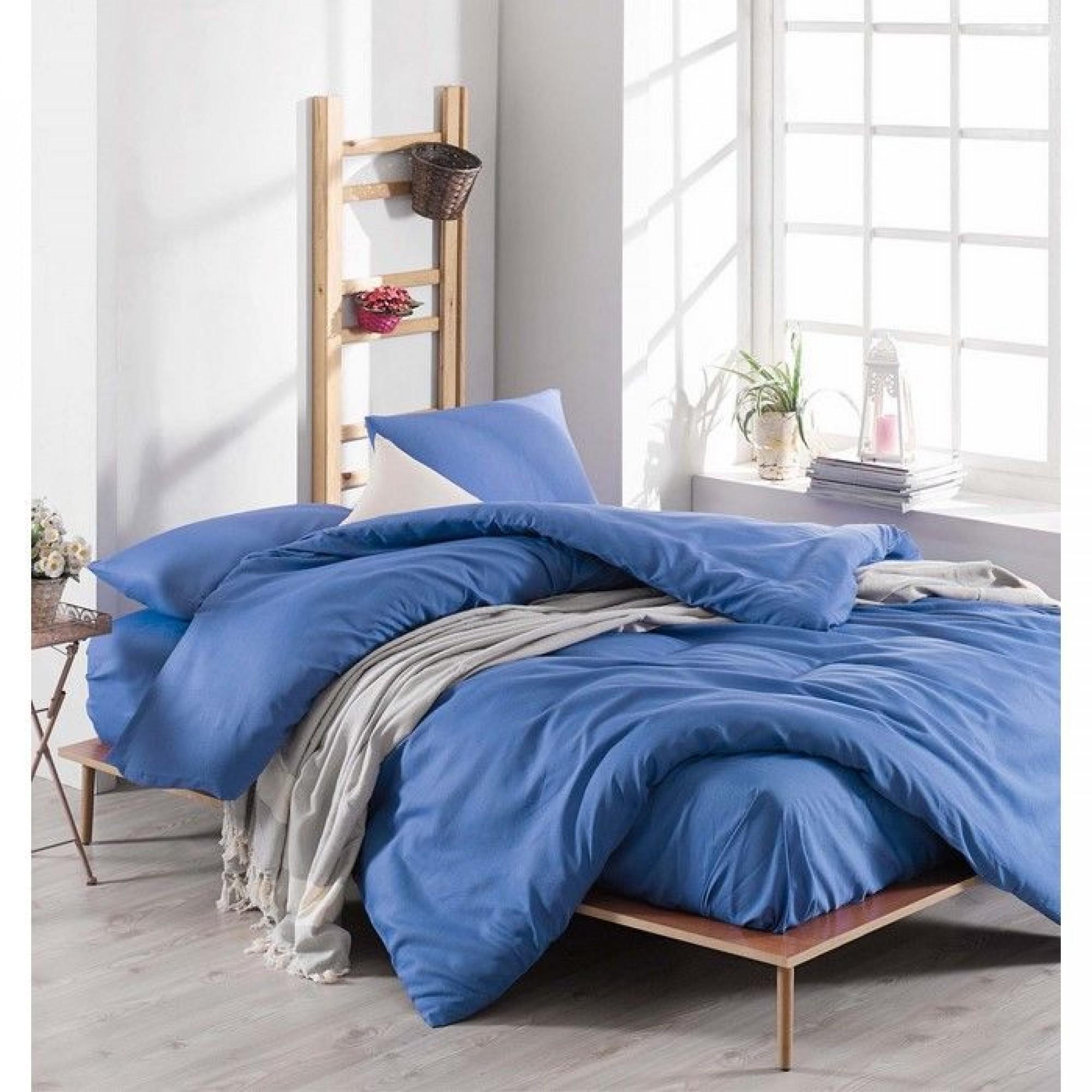 """Спален комплект """"Blue Mood"""" Ранфорс - 100% Памук"""
