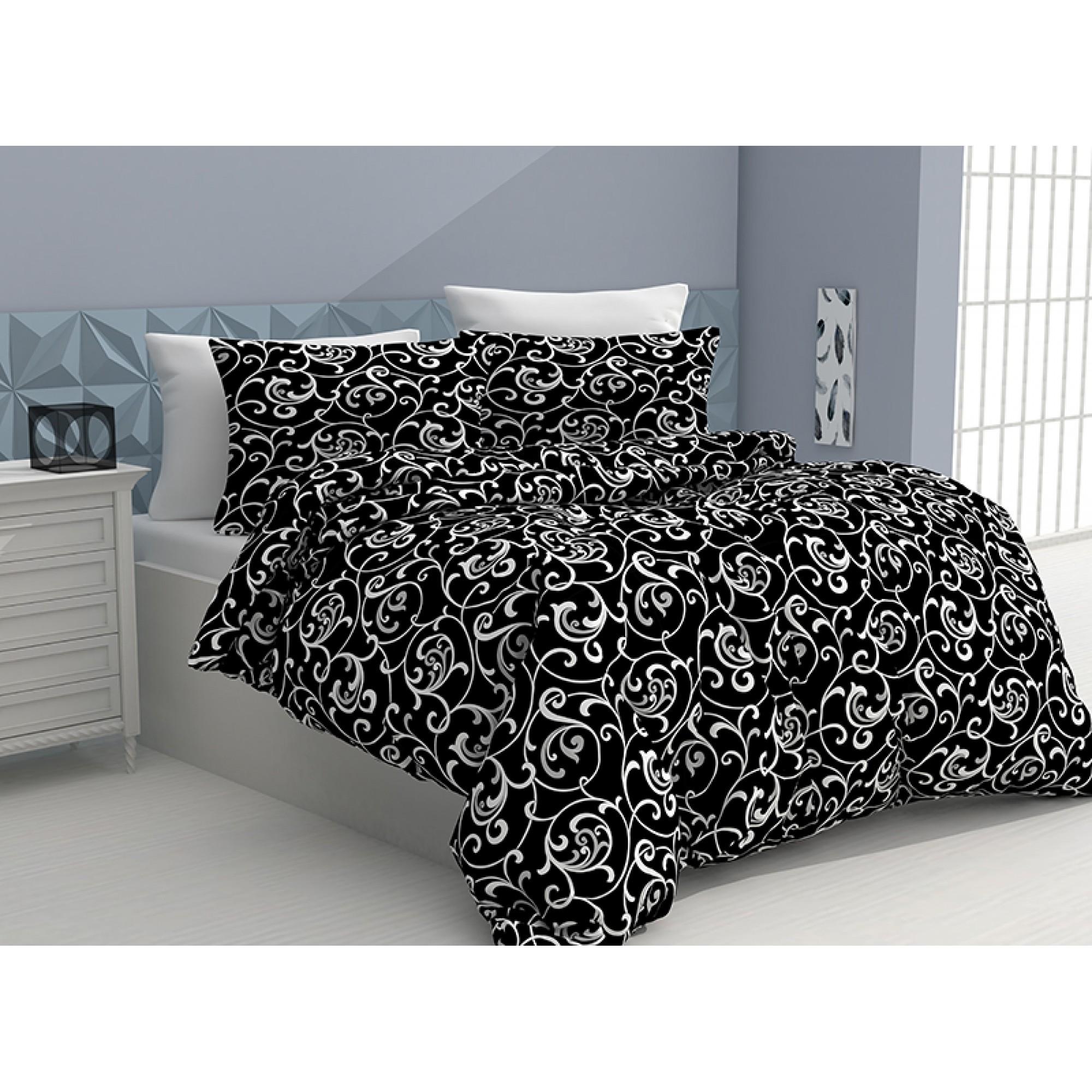 Спален комплект от 100% памук Floral Motives