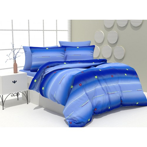 Спален комплект от 100% памук Оrange Sea