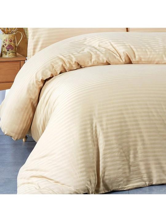 Спалното бельо от памучен сатен Cappucino