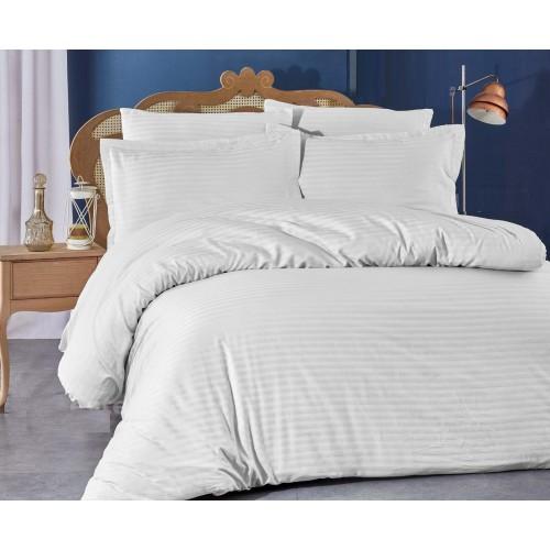 Спално бельо STRIPE – Памучен сатен